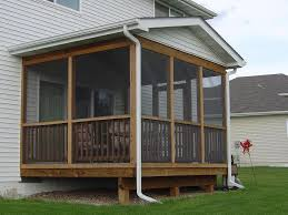 screened porches plan