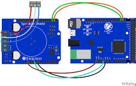 hunter sprinkler wifi remote control io this diagram shows the connection between the esquilo air sprinkler shield and the hunter sprinkler controller