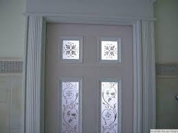 skaneateles 5 master bath ornamental etched glass pocket door detail