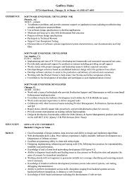 Software Engineer Developer Resume Samples Velvet Jobs