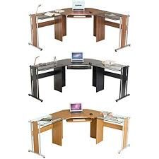 large corner computer desk office table