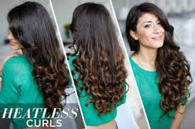 Luxy Hair Style heatless curls hair tutorial youtube 1051 by wearticles.com