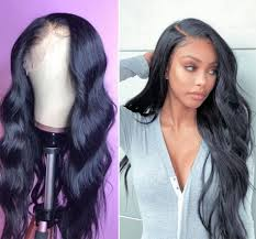 More Views. 8A Lace Front Wigs Body Wave Virgin Human Hair With Baby