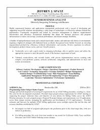 Template Senior Business Analyst Resume Banking Cv Template Business