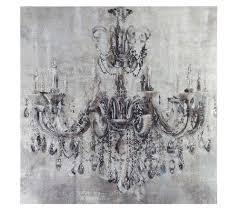 Abella Arte Wandbild Kronleuchter Inkl Strasssteine Kunstvolle Dekoration Ca 80x80cm Qvcde