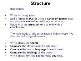 What Is A Good Introduction For A Poetry Essay