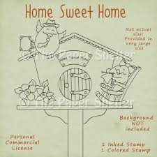 home sweet home the paper shelter digital stamps scrapbooking  home sweet home click here to see all the promo images