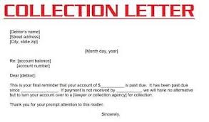 Factors To Be Considered In Writing Collection Letter The