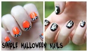 Easy Halloween Nail Art Designs (no nail art tools needed!) - YouTube