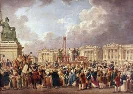 origins of the french revolution in the ancien regime french revolution after a painting by pierre antoine de machy