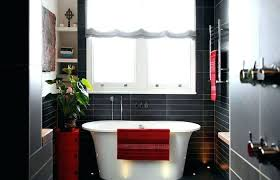 red bathroom decor ideas decorating black and white best