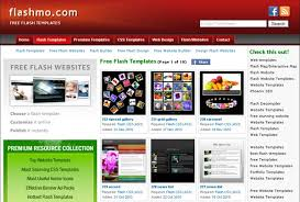 Free Flash Web Template 30 Sites That Offer Free Website Templates And Free Flash
