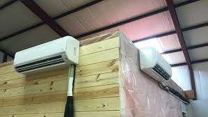 wall mounted air conditioning unit hanging conditioner units canada 4 things