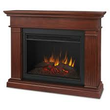living room electric fireplace logs animation like a real flame screen grand wooden and black