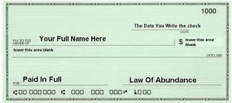 write your law of abundance check before pm us  lawofabundancepic