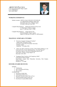 Format For Resumes For Job A Sample Of A Resume For A Job Nguonhangthoitrang Net