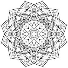Mandala Da Colorare Disegni Da Colorare Per Adulti Iphone Ipad