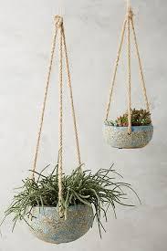 Slide View: 1: Handpainted Hanging Planter
