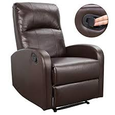 homall recliner chair padded pu leather home theater seating modern chaise couch lounger sofa seat