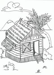 House Coloring Pages For Free