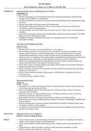 Senior Recruiter Resume Samples Velvet Jobs
