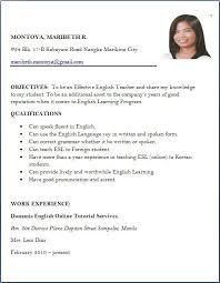 Brilliant Ideas Resume For Job Application Format Of Resume For Job