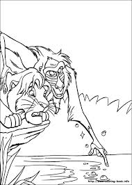 Pride Coloring Pages Lion King Simba Coloring Pages The Lion King Coloring Pages On