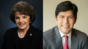 Printed material from the office of the senator; Sen Feinstein Snubbed By California Democratic Party S De Leon Endorsement Times Of San Diego