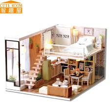 cheap wooden dollhouse furniture. Doll House Miniatures Cute Room Miniature Wooden Dollhouse Furniture Toy Toys For Cheap