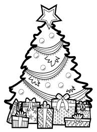 Small Picture Coloring Pages Small Christmas Tree Coloring Pages Free Printable