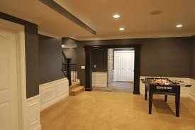paint colors for basementsBasement paint color schemes
