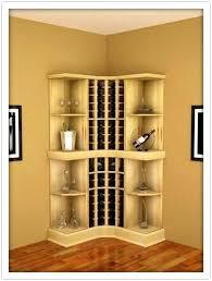 corner wine rack wood corner wine rack furniture creative places for throughout corner wine rack