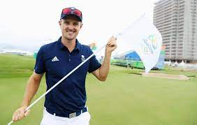 Anything new for rio 2016? Justin Rose And The Rio 2016 Olympic Golf Pin Flag Olympic Golf Rio Olympics 2016 Olympics
