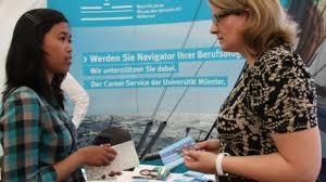 What Happens At A Job Fair Career Fair Study In Germany Land Of Ideas