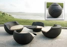 mobilier de jardin contemporain
