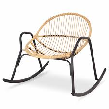 cuba rattan rocking chair