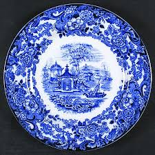 Blue China Pattern Mesmerizing Wedgwood Chinese Flow Blue At Replacements Ltd