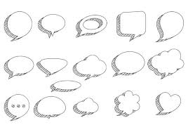 Photoshop Speech Bubble Sketchy Speech Bubbles Psd Pack Free Photoshop Brushes At