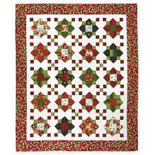 Daily Deal - Quilting Fabric for Sale — Missouri Star Quilt Co. & MSQC Songbird Christmas Quatrefoil Light Kit - Full Size Quilt Adamdwight.com