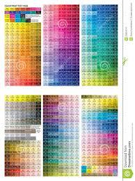 Printer Color Test Pattern L L L L L