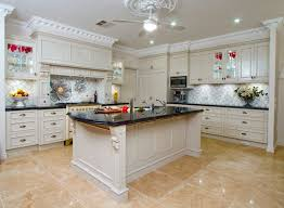 White Kitchens With Islands Decoration Ideas Casual Design Ideas Of Country Style Kitchen