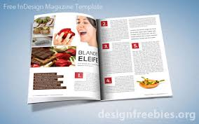 Indesign Magazine Free Exclusive Indesign Magazine Template V 2 Designfreebies