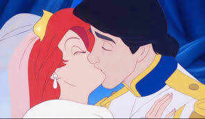 Small Picture ARIEL WEDDING KISS Mermaid Princess Ariel and Prince Eric Wedding