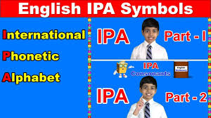 The international phonetic alphabet (ipa)note 1 is an alphabetic system of phonetic notation based primarily on the latin alphabet. International Phonetic Alphabet Ipa English Pronunciation Symbols Vowels And Consonants Youtube