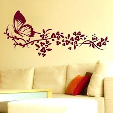 seemly flower stencils for wall painting bedroom wall paint ls led master in metallic colors furniture