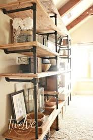industrial style shelving. DIY Industrial Pipe Shelves Style Shelving