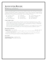 Entry Level Accounting Resume Sample Best Of Accounting Bookkeeping Resume Resume For Bookkeeper Sample
