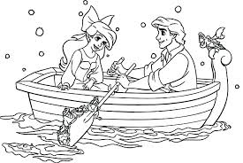 Ariel Coloring Pages For Free