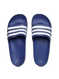 adidas flip flops. buy adidas men black duramo slide flip flops - for | myntra