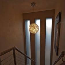 modern stairwell lighting. pendants modern stairwell lighting